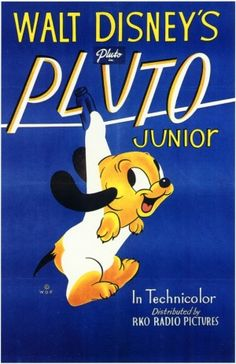 "Walt Disney´s PLUTO Junior (1942) - Directed by Gerry ""Clyde"" Geronomi + distributed by Walt Disney Productions"