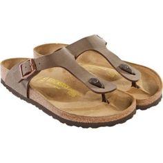 Birkenstock Womens Gizeh Mocha 43751 Birko Flor Sandals Shoes Flip Flops #Birkenstock #FlipFlops $119.99