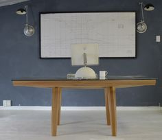 Bailey Desk Light, structural and v cool by Rose and Heather NZ.