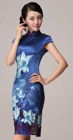 Oriental Dress, Oriental Fashion, Asian Fashion, Traditional Fashion, Traditional Dresses, Collection Eid, Chinese Clothing, Chinese Dresses, Vetement Fashion