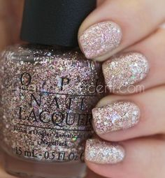 OPI Rose Of Light (over OPI Don't Pretzel My Buttons) Nail Polish | Ledyz Fashions ||  | The hottest and most flattering nail trends, nail styles and nail fashions we can't get enough of. Perfect nail art ideas and ways to paint your nails for the holidays. Look beautiful down to your fingertips.Try our nail inspiration ideas and the best nail polish we've found. Our tips on how to take care of your nails, the tricks of nail art and numerous extraordinary nail designs…