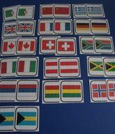 Jeu de mémoire visuelle: Les drapeaux Alzheimer's And Dementia, Continents, Social Studies, Montessori, Clip Art, Animation, Teaching, Activities, Smiley