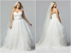 WTOO 2014 Spring Collection For Plus Size Brides - KnotsVilla