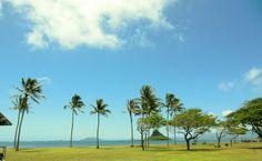 Kualoa Beach Park Oahu,Hawaii