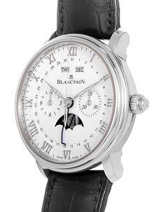 Blancpain Villeret Calendar Chronograph. Model 6685-1127-55B. $21k / $16k.
