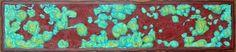 'Meat'  mixed media reversible art (reverse-'A Flowing River')  Steve Zihlavsky