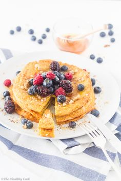 Protein Pancake with Turmeric – Πρωτεϊνική Τηγανίτα με Κουρκουμά   The Healthy Cook