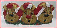Reindeer Paving Stone E- Pattern, $7.00