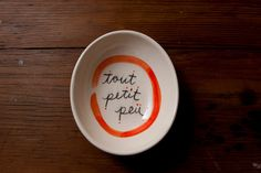 """Tout Petit Peu"" Mini Bowl by Young Alexander Mini, Tableware, Etsy, Dinnerware, Tablewares, Dishes, Place Settings"