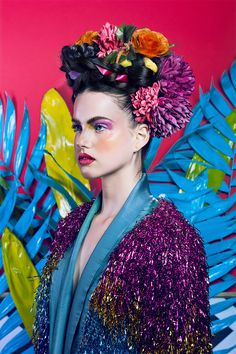 Impressive series of fashion and beauty shots by Fernando Rodriguez, aka The nobody photography.  More fashion & beauty via Behance