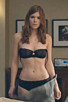 kate mara black undies