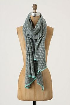 Purely Patterned Scarf, Anthropologie