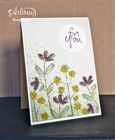 Mum's Love note cards - Stampin' Up artisan blog hop (Crafting Clare's Paper…