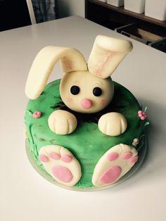 Rabbit cake for little girl