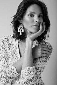 Marte Frisnes Jewellery Tassel Bracelet, Tassel Earrings, Drop Earrings, Summer Wardrobe, Pretty Face, What To Wear, Fashion Photography, Product Launch, Style Inspiration