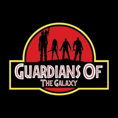 Guardians Of The Galaxy Jurassic Park