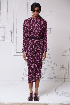 Band of Outsiders - polka florals