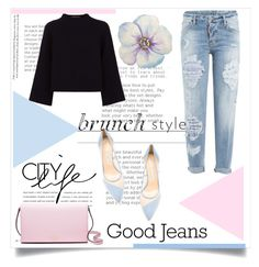 """""""brunch style"""" by d-meggy ❤ liked on Polyvore featuring Jaeger, Kate Spade, Dsquared2 and Bionda Castana"""