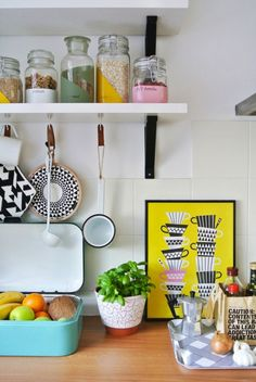 14 Quick Tricks to Make Your First Apartment Feel More Grown up via Brit + Co
