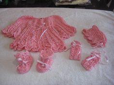 conjunto bebe rosa fucsia