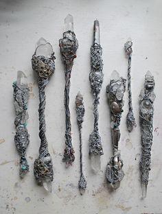 lunarofferings:  magic wands by Mister Finch