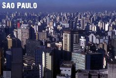 Sao Paulo, Brazil  The Endless City