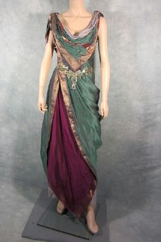 beautiful roman gown