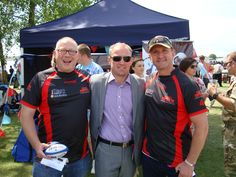 Tim Barber, Neil back, Pete Oram #Backtoearth