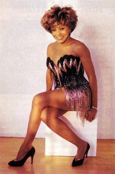 Tina Turner in Bob Mackie