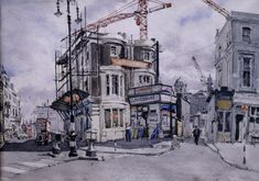 Marianne Von Werther (1904-84), Post-war Notting Hill Gate via The Persephone Post