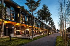 Design showcase: Taiwanese factory transformed into mall - Retail Design World Commercial Street, Modern Architects, Clinic Design, Urban Architecture, Facade Design, Modern Landscaping, Showcase Design, Commercial Interiors, Retail Design