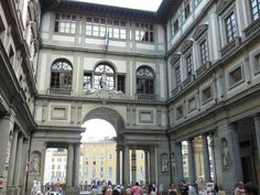 Galleria degli Uffizi - Firenze, Italia / Giorgio Vasari