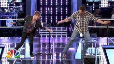 I love Blake so much! What You Didn't See: The Knockouts - The Voice