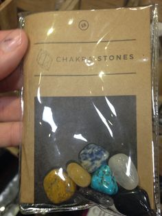 Healing Crystals from Earthbound trading company chakra stones