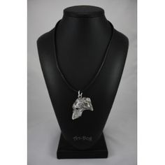 Necklace covered thin layer of silver Dog Lover Gifts, Dog Lovers, Italian Greyhound Dog, Scottish Deerhound, Grey Hound Dog, Dachshund Dog, Best Artist, Dog Supplies, Silver Necklaces