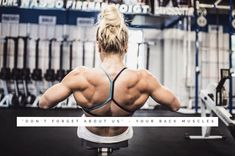 25 Photos That Prove Katrin Davidsdottir Is the Fittest Woman on Earth - 25 Photos That Prove Katrin Davidsdottir Is the Fittest Woman on Earth - Men's Fitness Crossfit Women, Crossfit Gym, Crossfit Athletes, Crossfit Exercises, Workouts, Crossfit Motivation, Muscular Women, Back Muscles, Powerlifting