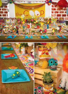 Bright & Festive Fiesta Birthday Party