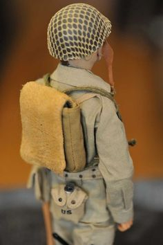Collectible GI Joe Doll by ArtisanUnited on Etsy, $75.00