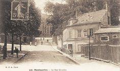 rue Girardon - Paris 18ème - La rue Girardon vers 1900).