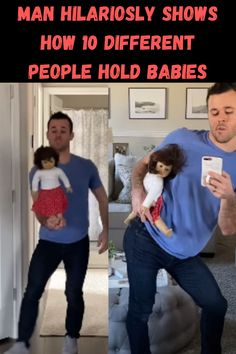 Different folks, different strokes. Even when it comes to carrying babies and that's a really scary thought. There is a proper way to carry those tiny humans and even the experts can back up their claims of how to do so.
