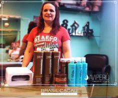 """Para mantener tu cabello muy buen cuidado, con productos profesionales de alta calidad, reconocidos a nivel mundial. Te recomendamos visitar a nuestra clienta Zulay Cisneros de Stoll, la ubicas en Juan Peña 815 zona """"C"""" - San Juan de Miraflores. Para reservar una cita llamar al Telf.: 01 450 1513 al Cel.: 947 370 783."""
