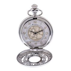 Ρολόγια : Ρολόι Τσέπης Premiere Ανδρικό Silver Quartz