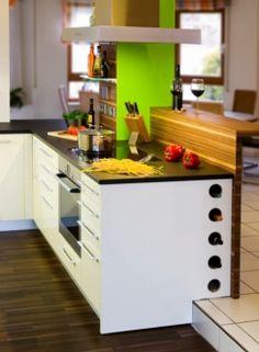 Küche mit Farbakzenten - Durchdacht bis ins Detail