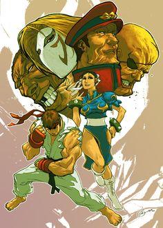 Street Fighter by Kenneth Loh