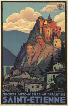 FRANCE - Saint-Etienne. Roger Broders 1929