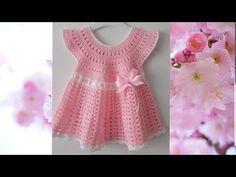 Crochet Baby, Crochet Bikini, Crochet Girls Dress Pattern, Baby Dress, Girls Dresses, Knitting, Bikinis, Clothes, Women