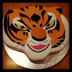 kung fu panda tigress cake | Tigress Cake. From the Movie Kung-Fu Panda.