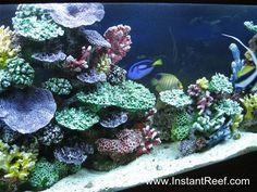 18 Best Artificial Coral Images Artificial Coral Aquarium