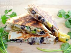 Chicken & Pineapple Quesadillas