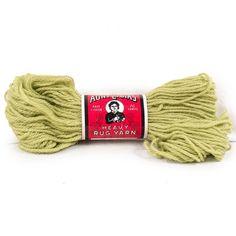 Vintage Aunt Lydias Yarn Heavy Rug #630 Chartreuse 235A #Crafting #CraftProjects 70 Yard Skein #AuntLydias #RugYarn